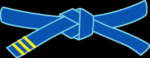 Passage de grade ceinture bleue ray e